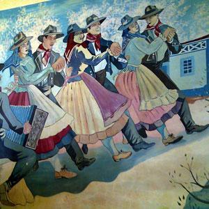 Moita da Serra, mural, 2007